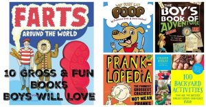 10 Gross and Funny Fact Filled Books for Boys