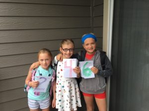 A Letter to My Children on their First Week Back to School