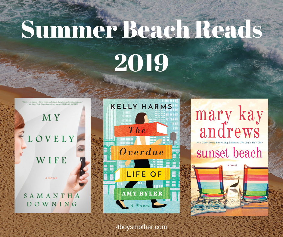 My 2019 Summer Books Reading List/Beach Reads is Here!