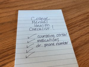 A Mental Health Checklist for Your Soon to Be College Freshman- This is What They Need to Know Before They Leave