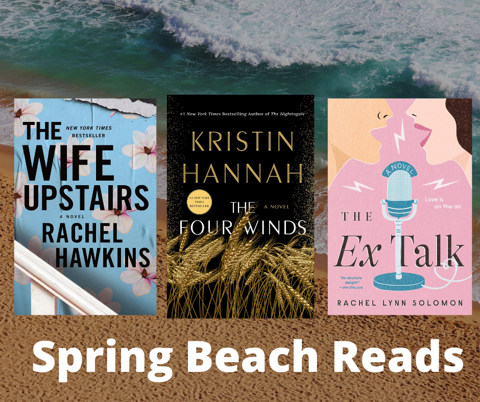 Spring 2021 Beach Reads & New Book Releases